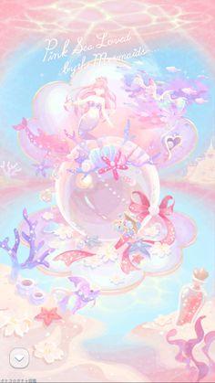ポケコロガチャ図鑑 Mermaid Wallpaper Backgrounds, Cute Pastel Wallpaper, Mermaid Wallpapers, Cute Disney Wallpaper, Aesthetic Pastel Wallpaper, Cute Cartoon Wallpapers, Kawaii Wallpaper, Pretty Wallpapers, Wallpaper Iphone Cute