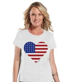 This fun shirt is the perfect way to celebrate 4th of July and show your America pride! Our graphics are professionally printed directly onto the fabric for bright and vibrant designs which will last.