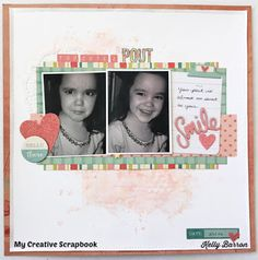 My Creative Scrapbook: Main Kit Process Video with Kelly Barron