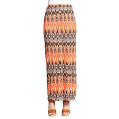Joie Loni Printed Jersey Maxi Skirt
