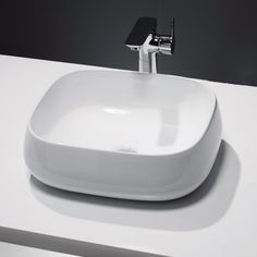 Shop the Bella Counter Top Basin. The smooth, elegant curves of this item will add a charming element to modern settings. Now at Victorian Plumbing.