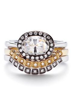 20 Engagement Rings For Unique Brides #refinery29