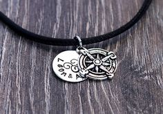 A personal favourite from my Etsy shop https://www.etsy.com/listing/514345360/compass-necklace-mens-necklace