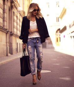 pof boyfriends jean + heels via Angelica Blick