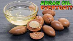 Can I Use Argan Oil Everyday? #ArganOil #UseArganOil Argan Oil Face, Argan Oil Benefits, New Hair Growth, Hair Remedies For Growth, Brittle Hair, Dry Scalp, Essential Fatty Acids, Strong Hair, Moisturiser