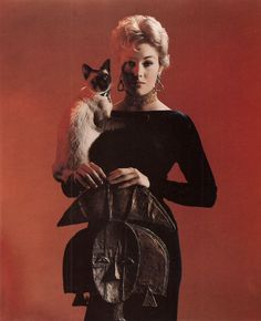 Portrait of Kim Novak forBell Book and Candledirected by Richard Quine, 1958. Photo by Robert Coburn
