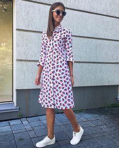Dress from Alexander Terekhov SS16  collection / Платье #terekhov #ss16…