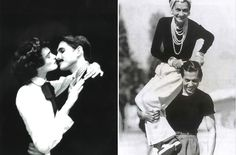 "Coco Chanel and her lover, Captain Arthur Edward ""Boy"" Capel"