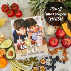 Can you BELIEVE that Christmas is only just over 6 weeks away?! Am I the only one wondering where this year went?  Whew! To help spread some nutritious and delicious festive cheer we're offering a special 15% off all Wholesome Child book purchases through our Wholesome Child online shop. . .  Simply visit the link in the bio  and enter the discount code XMAS15 at checkout. . . This offer is exclusive to books purchased through the Wholesome Child website only is limited to one use per person…