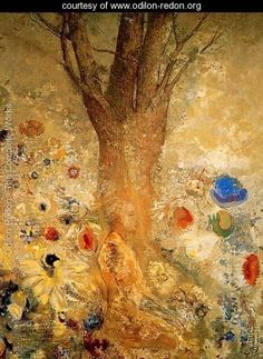 odilon redon. buddha in his youth.