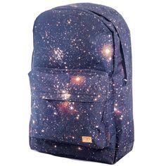 Spiral Galaxy Mercury Space Rucksack Backpack Skater Laptop Bag