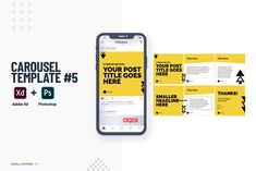 Facebook Carousel Ads, Instagram Design, Instagram Posts, Digital Campaign, Carousel Designs, Catalog Design, Adobe Xd, Creative Advertising, Instagram Story Template