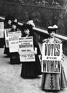 London suffragists
