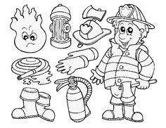 Kids See Fire As An Element That Emits Warmth And Light It Is Very Must To Educate Them About With These 10 Free Printable Firefighter Coloring Pages