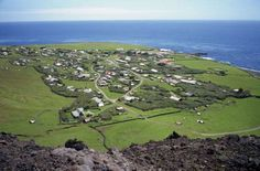 TRISTAN DA CUNHA, BRITISH OVERSEAS TERRITORY This remote volcanic island in the Atlantic Ocean lie 1,750 miles (2,816 km) away from the nearest continental land of Africa. However, it has a U.K. postcode — TDCU 1ZZ. Home to just 301 individuals, it is a great spot for bird-watching, with rare species like northern rockhopper penguins, Atlantic yellow-nosed albatrosses, sooty albatrosses, Atlantic petrels, and great-winged petrels found aplenty.