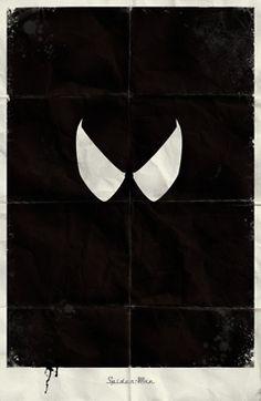 Minimal Marvel poster by Marko Manev