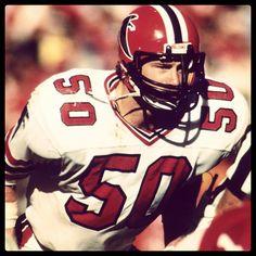 Falcons Football, Football Helmets, Football Video Games, Sports Figures, Tough Guy, Atlanta Falcons, Best Player, American Football, Old School