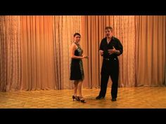Salsa Beginner Crossbody Lead Folllow - YouTube