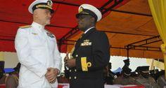 Marina Militare: il Presidente del Ghana a bordo della portaerei Cavour