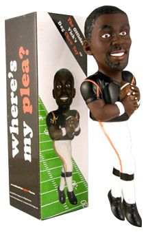 Michael Vick Dog Chew Toy...all proceeds go towards the prevention of animal cruelty.