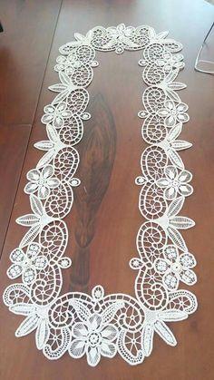 msz - Diy And Craft Filet Crochet, Irish Crochet, Crochet Doilies, Crochet Lace, Tatting Patterns, Lace Patterns, Crochet Patterns, Needle Lace, Bobbin Lace