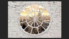 Vlies Fototapete 300x210 cm - 3 Farben zur Auswahl - Top Tapete Wandbilder XXL Wandbild Bild Fototapeten Tapeten Wandtapete Wand New York City Stadt Architektur Ziegel Holz Strand Sepia d-A-0008-a-b