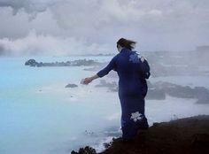 joan jonas, 'iceland photo for volcano saga v#1' (1985-2003)
