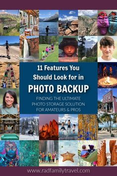 Looking for a reliable photo storage plan to protect your photography, website work, and family memories for the long haul? Learn the 11 features you should be looking for in a photo backup service. Vital for amateurs, pros, bloggers, and family memory keepers alike.