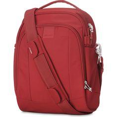 PacSafe Metrosafe LS250 Shoulder Bag in Red | Buy Shoulder Bags