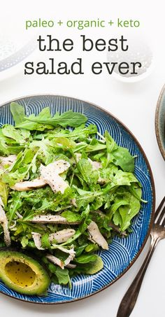 Arugula Chicken Salad — Cheeky Kitchen
