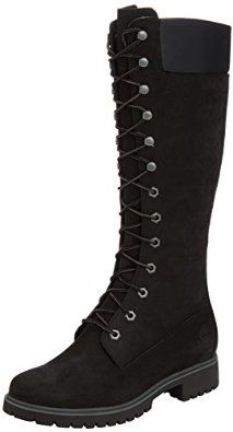 Timberland Premium 14-Inch, Women's Combat Boots: Amazon.co.uk: Shoes & Bags