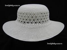 """Uncinetto d'oro: Cappello"""" Gillia bianca"""" !!!"""