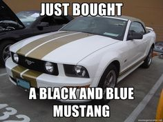 ultimate car mustang blue black or white gold