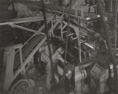 'Machine operator', Chris Killip, 1989-90 | Tate