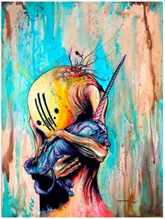 Alex Pardee - livelavalive My inspiration, Alex pardee is the artist that inspired me to follow through with the arts with his bright but dark images and detailed line work! AK