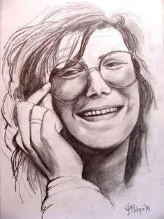 ΦΩΤΕΙΝΗ ΖΩΓΡΑΦΙΚΗ_ Φωτεινή Μάμαλη: Γυναικείο πορτραίτο με μολύβι
