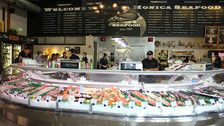 Santa Monica Seafood Market and Café | Photo by Bill Esparza