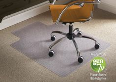 Natural Origins Chair Mats Are Environmentally Friendly Chairmats Made From  Plant Based Polymers. These Office Chair Mats Are Phthalate And Cadmium  Free ...