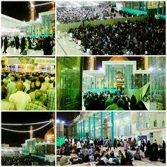 [ 12 Shaban 1437 ]   Right Now The Atmosphere inside Al-Askari Holy Shrine.