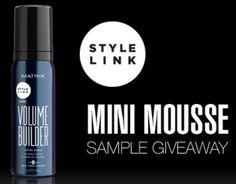 GRATIS muestra de Style Link Mini Mousse para el cabello | Súper Baratísimo o Gratis