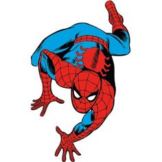Marvel Classic Spider-Man Peel-and-Stick Giant Wall Decals, Multicolor