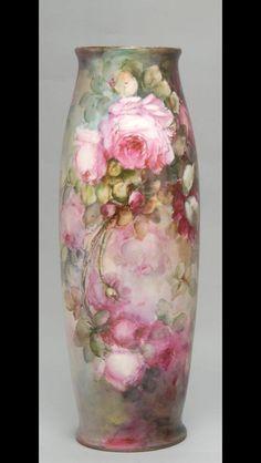 Fine Porcelain, Porcelain Ceramics, Painted Porcelain, Hand Painted, Painted Roses, Porcelain Skin, Porcelain Tiles, Antique China, Vintage China