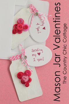 Mason Jar Valentines