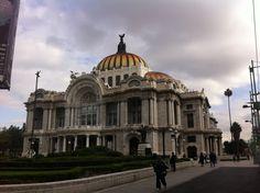 El Palacio de Bellas Artes en la Cd. de México