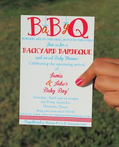 okay, when i have a baby shower one day, PLEASE throw me a BaByQ!