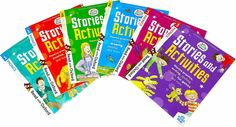 Biff Chip Kipper Phonics Stories & Activities Pack 6 Books Collection Stage 1to3