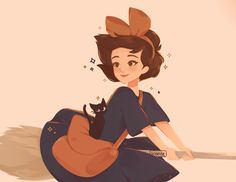 Studio Ghibli Art, Studio Ghibli Movies, Totoro, Pretty Art, Cute Art, Personajes Studio Ghibli, Japanese Animated Movies, Howls Moving Castle, Hayao Miyazaki