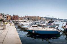 Istrian Riviera - from fishing port Rovinj to Opatija seaside resort Seaside Resort, Seaside Towns, World's Biggest, Croatia, Road Trip, Europe, Beautiful, Road Trips