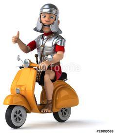 """Téléchargez la photo libre de droits """"Fun roman soldier"""" créée par julien tromeur au meilleur prix sur Fotolia.com. Parcourez notre banque d'images en ligne et trouvez l'image parfaite pour vos projets marketing !"""