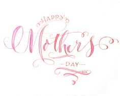 To all Mothers--Calligraphy